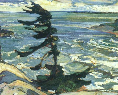 Stormy Weather by Fred Varley - Group of SevenFred Varley, Georgian Bays, Canada, Group Of Seven, Stormy Weather, Art, Groupofseven, Painting, Frederick Varley