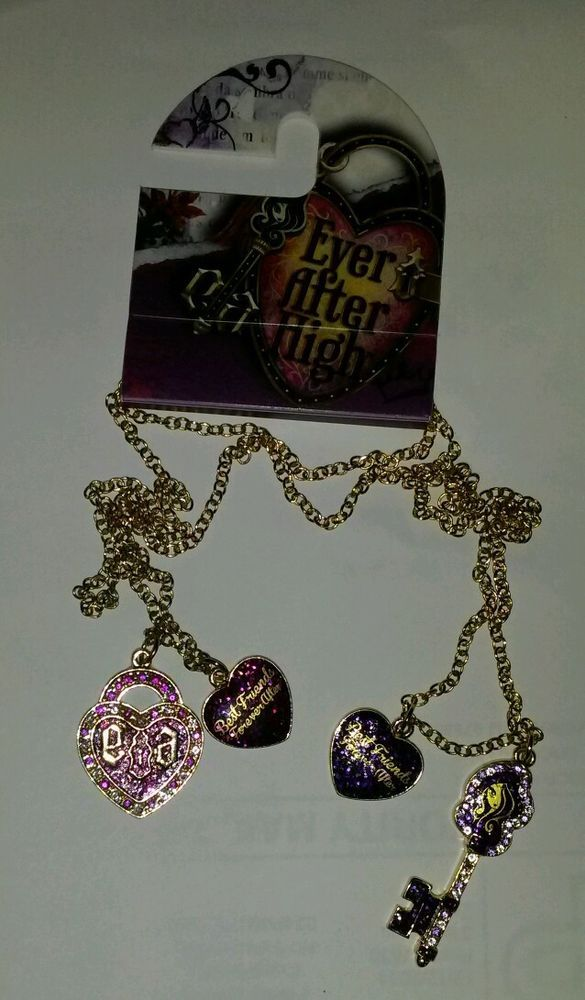 Justice Exclusive Ever After High BFF Pendants Valentines Day Gift  Moms Toys For Sale