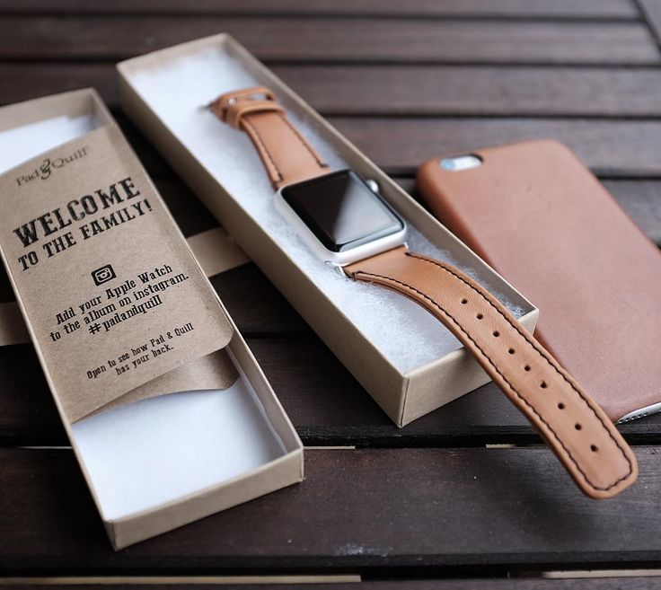 After trying several Apple Watch leather bands, this one from #padandquill is…