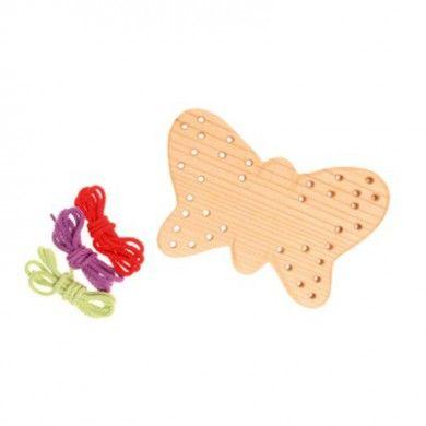 Papillon en Bois à lacer GRIMM'S