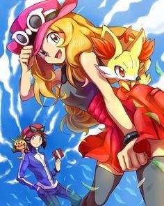 Kalos/ Serena and Calem / Pokemon