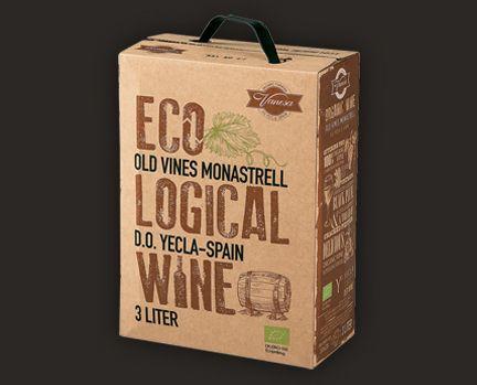 Vanesa Monastrell, Yecla DO, Spanien (Økologisk dyrkede druer) (3 ltr. Bag in box)