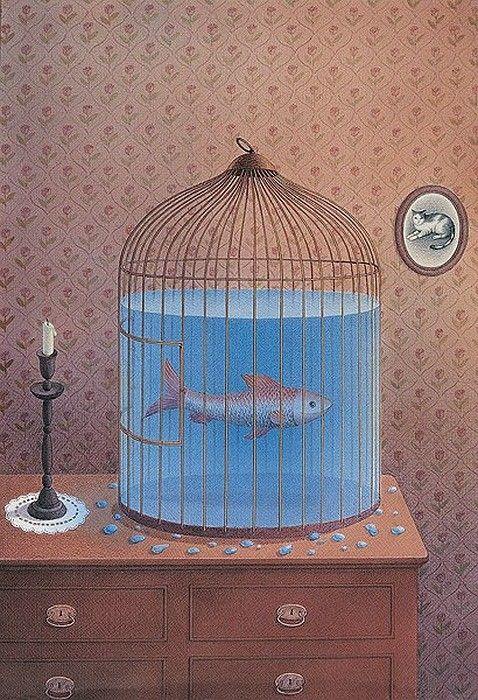 Art surrealiste de Gurbuz  Dogan Eksioglu