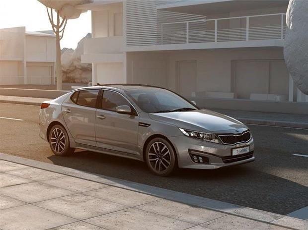 Kia Optima : hybride et diesel au Mondial de Paris