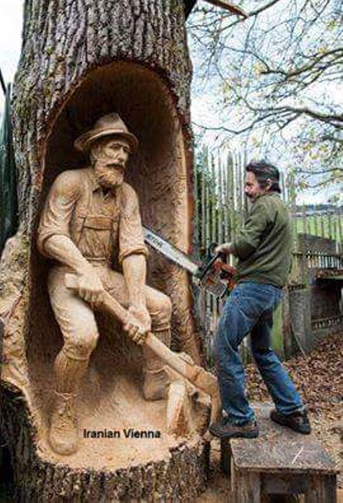 Best chainsaw carving images on pinterest