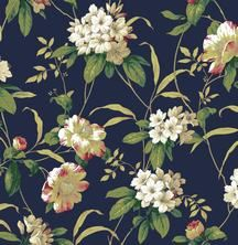 York Wallcoverings Casabella II Rhododendron Floral
