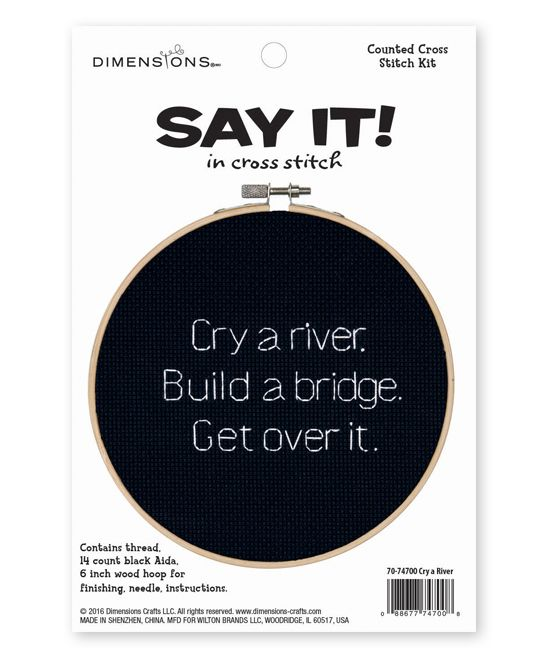 'Cry a River' Needlecrafts Kit