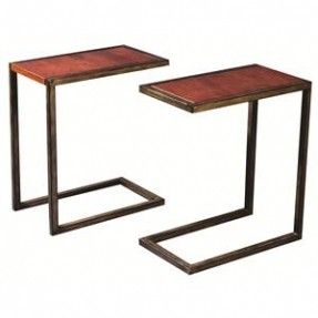 *Pinned for inspiration* - Side table idea/Alternative to tv trays