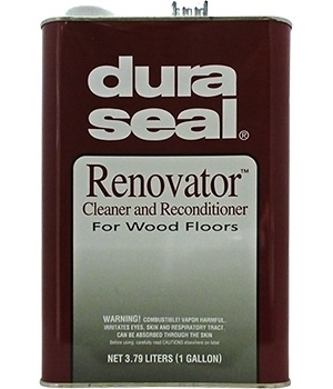 DuraSeal Renovator - Reseal and clean hardwood floors in one step! Use on DuraSeal finished floor, unglazed terra cotta tile, concrete, and terrazzo. Great hardwood floor cleaner!
