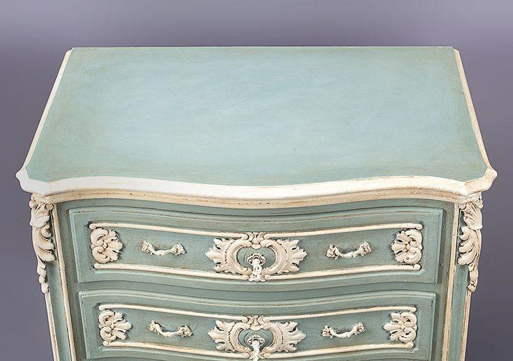 Französischer Stil für das Schlafzimmer: Das Bett wird hervorgehoben