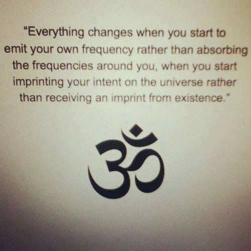 something I definitely need to remember. Don't take on other's energies/issues/dramas. Only emit light.