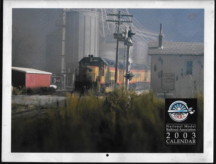 National Model Raiload Association 2003 Calendar NMRA
