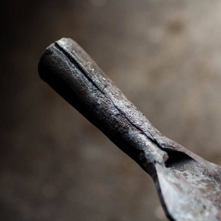 The socket of a viking spear. Hand forged reproduction of an old Norwegian Viking Spear.  #spear #viking #medieval #spearhead #smed #blacksmith #larp #wargames