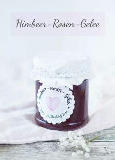 Himbeer-Rosen-Gelee zum Muttertag