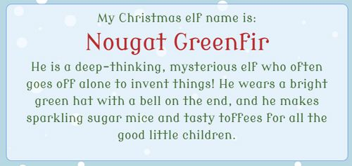 Christmas elf name generator