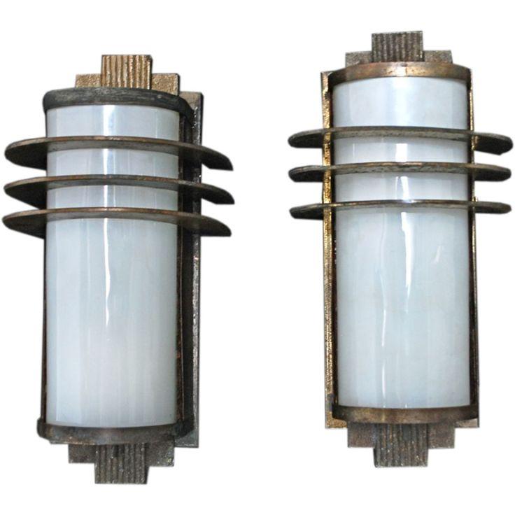 Art Deco Wall Sconce Light Fixtures : Best 25+ Art deco lighting ideas on Pinterest Art deco lamps, Art deco and Art deco furniture