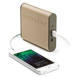 ThinkGeek :: Rescue Portable USB Battery Pack