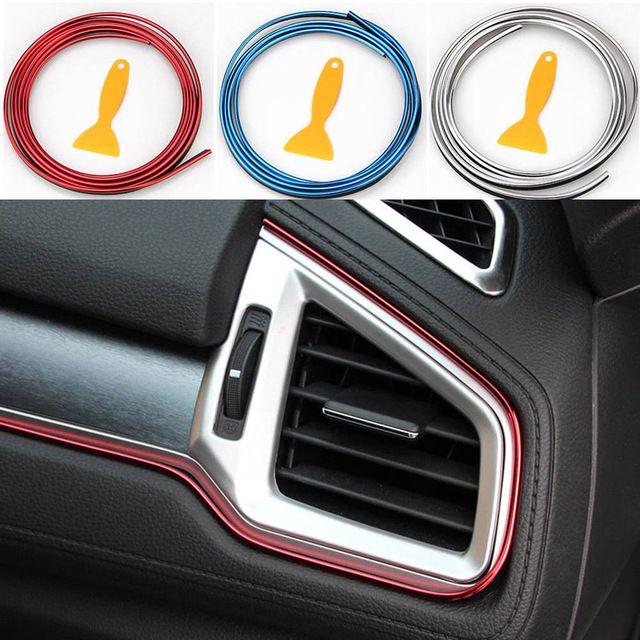 5m Car Door Edge Guards Trim Rubber Seal Protector Panel Protection Strip For Van Car Interior Decor Dxy88 Review Car Interior Decor Van Car Honda Logo