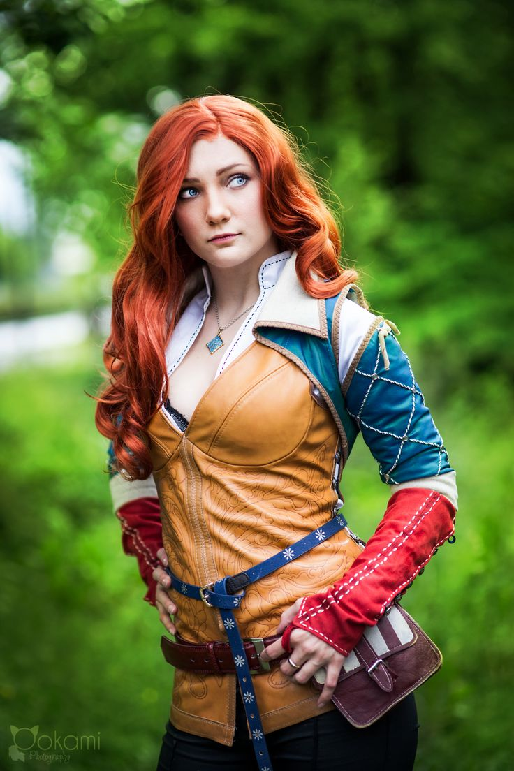 Triss Merigold from The witcher series, cosplay by Santatory https://www.facebook.com/SantatoryCosplay Photography by Ookami cosplay photography https://www.facebook.com/ookamicosphoto