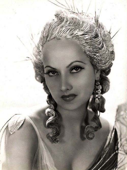 109 best images about The Exotic Beauty (Merle Oberon) on ...