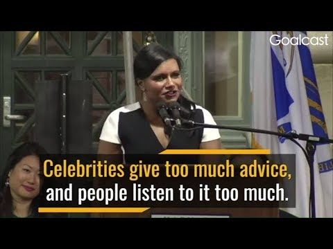 Mindy Kaling - Make a Difference (Inspirational And Motivational) Goalcast - YouTube