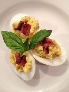 Paleo bacon deviled eggs - Real Food RN
