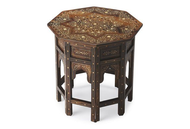 Hanan Side Table, Espresso