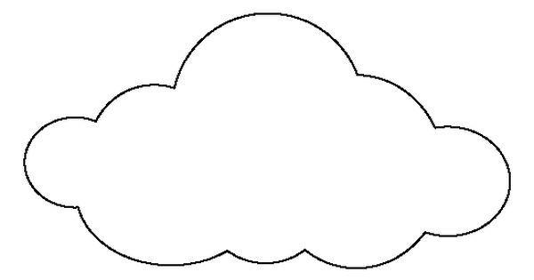 17 Best Ideas About Cloud Template On Pinterest