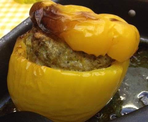 Ricetta Peperoni ripieni al forno pubblicata da Graff - Questa ricetta è nella categoria Secondi piatti a base di carne e salumi