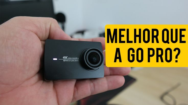 YI 4K Action Cam - MELHOR QUE A GO PRO? || Análise / Review