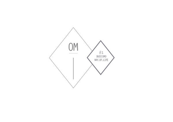 OM . BUDISMO ' WAY . OF . LIFE ' //fanzine by Diana Botelho João, via Behance