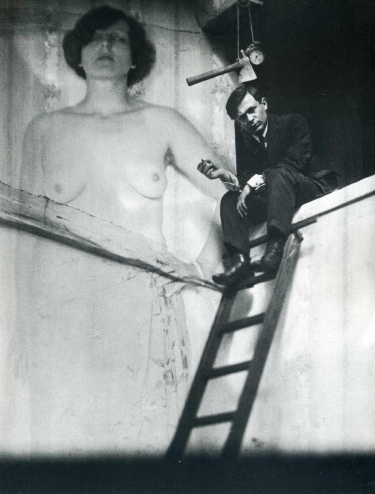 Man Ray - Tristan Tzara (1921)
