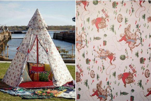 Retro Inspired Tents by Cath Kidston!  http://blog.freepeople.com/2012/04/retro-inspired-tents-cath-kidston/