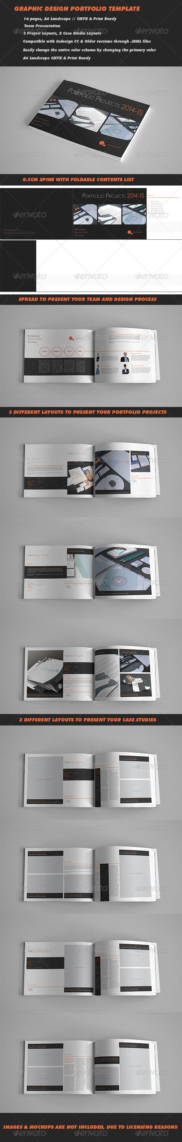 16 Pages Portfolio Presentation Template