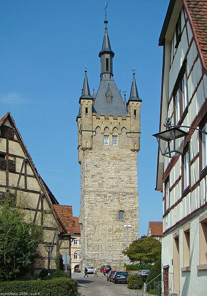 Blauer Turm (Blue Tower), Bad Wimpfen, Germany | Travel ...