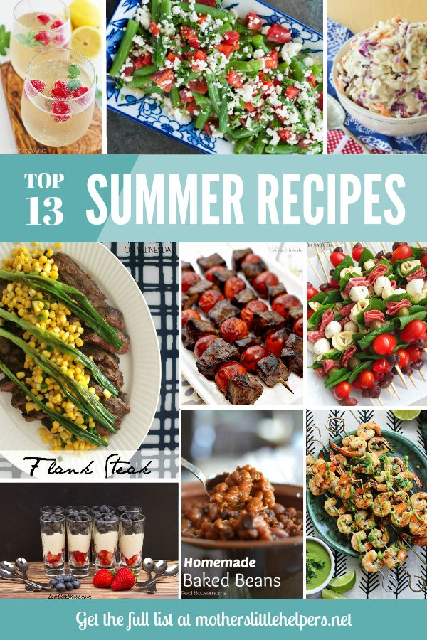 The Best Real Food Recipes for Your Summer Grill Party | 4th of July Recipes | BBQ Recipes | Grill Party Recipes | Recipe Roundup |