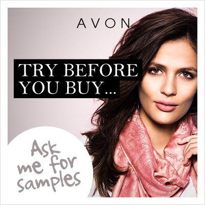I'd be happy to ship you a goodie bag filled with free Avon samples and the latest Avon brochure.