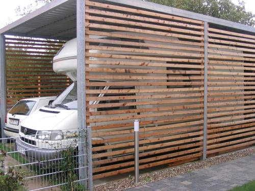 Carport selbst bauen ! - Wohnmobil & Wohnwagenform