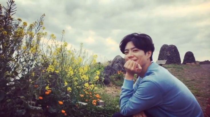 봄날 박보검 170415 ~ 16 제주도 [ 출처 : 디시 박보검갤러리 ]