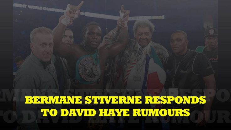 """STIVERNE RESPONDS TO DAVID HAYE FIGHT RUMOURS """" HE IS JUST A JACKASS!"""""""