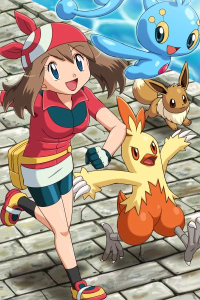 May - Pokemon - She was definitely my first favorite girl from Pokemon!
