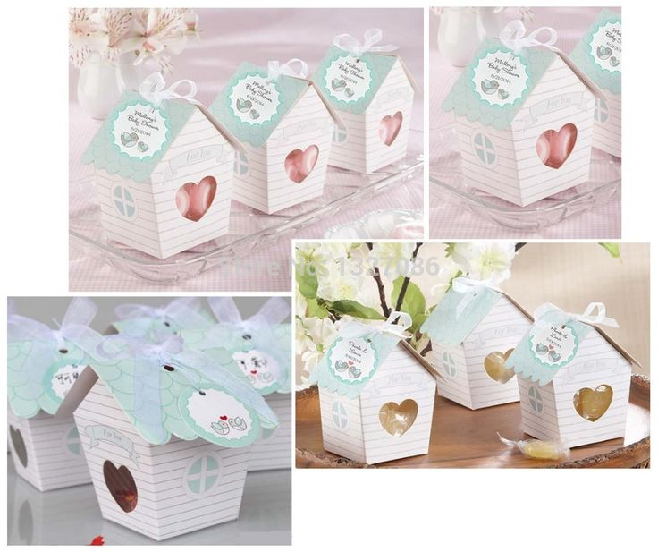 Cheap Event & Party Supplies, Buy Directly from China Suppliers:   10pcs Love Nest Bird House Favor Boxes Wedding Bridal Shower Box With Ribbon BX015              Sturdy-cardboar