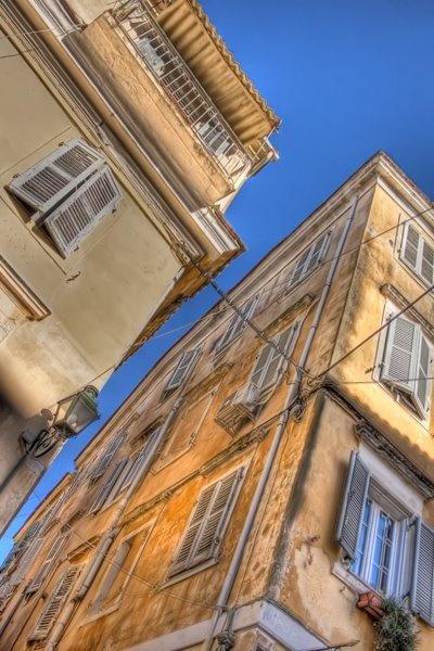 Corfu / Kerkyra Greece. More about Corfu town at corfu2travel.com/...#greece #island #holidays #scenery #architecture #corfutown #greekholidays