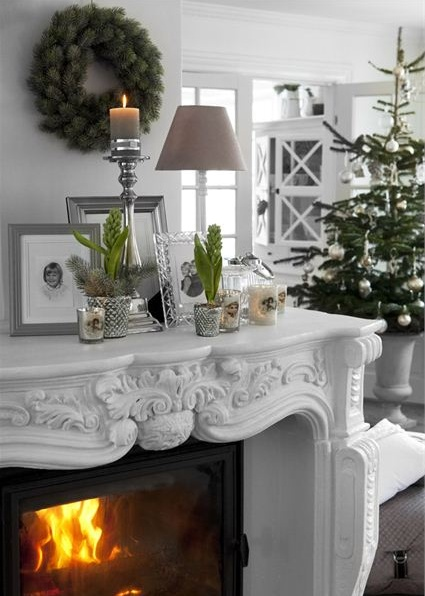 Love the large mantel around fireplace. Find one for mine?