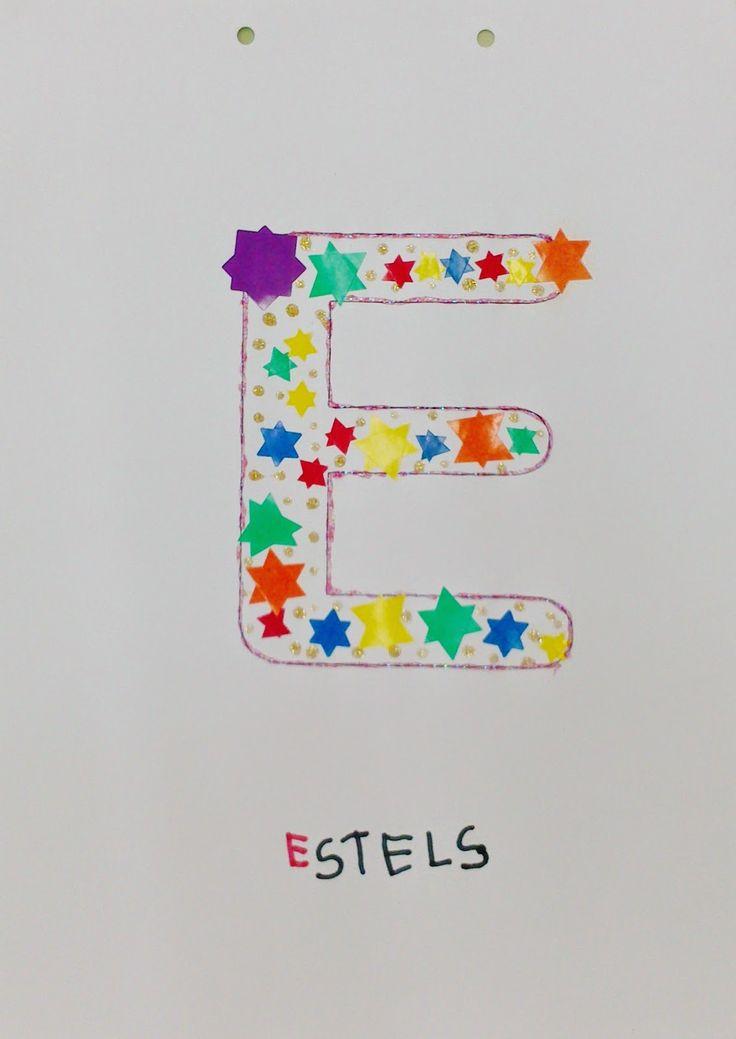 """QUÉ HACEMOS HOY EN EL COLE?: LIBRO DE LAS LETRAS: """"E"""""""