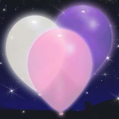 15x Palloncini Luminosi Led Illoom Balloon Pink-White Illoom Balloon Bianco-Rosa-Viola 15 Pack Novità. Gli originali palloncini luminosi a led in confezione da 15 pezzi in colori bianco, rosa e viola http://www.dettagliperfetti.com/palloncini/5550-15x-Palloncini-Luminosi-L.html