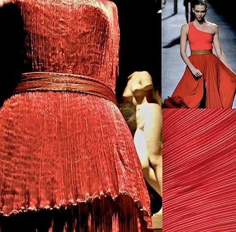 RANDOM MEMORIES  LANVIN Historia de un vestido, Delphos de Mariano Fortuny