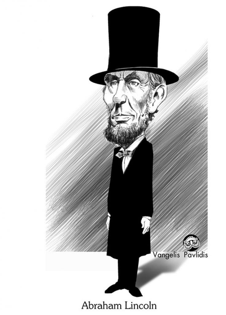 Αβραάμ Λίνκολν, Κοτόπουλο Φρικασέ – Abraham Lincoln, Chicken Fricassee, του Βαγγέλη Παυλίδη