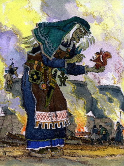 — Nicolai Kochergin  from the Kalevala