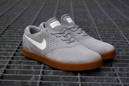 Nike SB Eric Koston 2 Sneaker - Wolf Grey/White/Gum